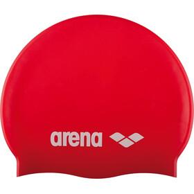 arena Classic Silicone Gorro de natación Niños, rojo